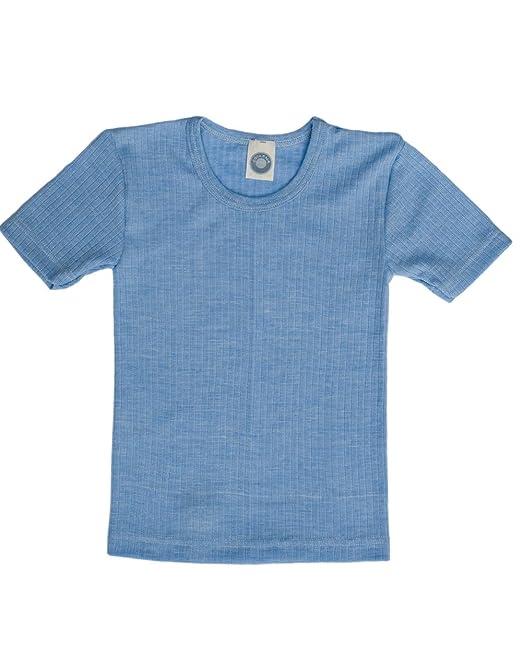 a forma di angioletto Bambini ascella camicia Engel lana Seta