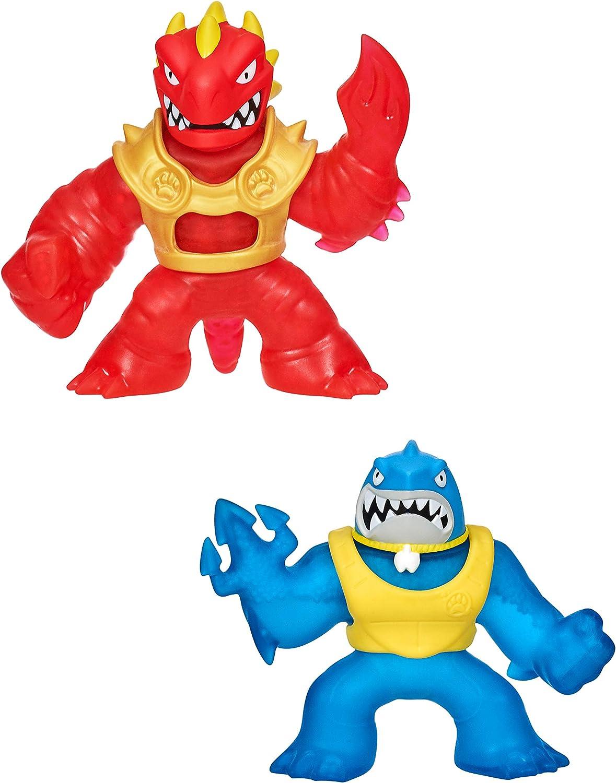 Heroes of Goo Jit Zu-Blazagon and Thrash Hero Pack