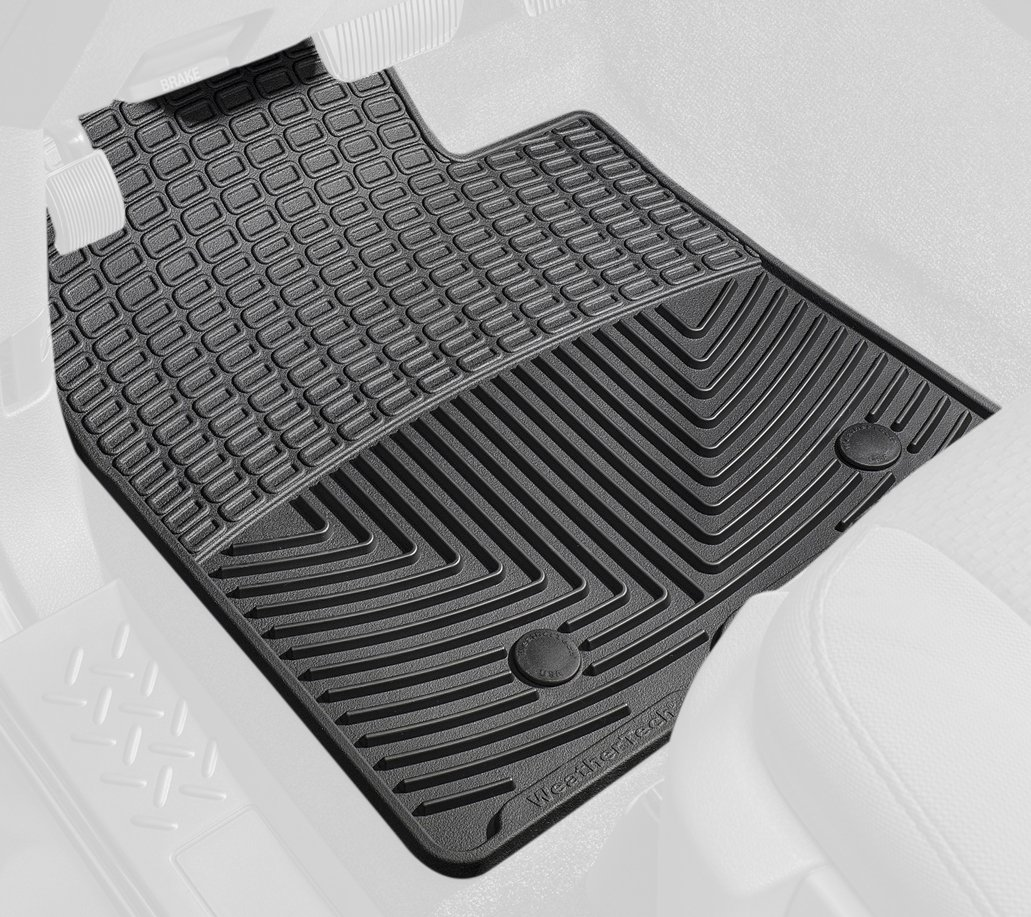 Floor mats volvo xc70 - Amazon Com Weathertech Rubber Floor Mat For Select Volvo Models Set Of 2 Black Automotive