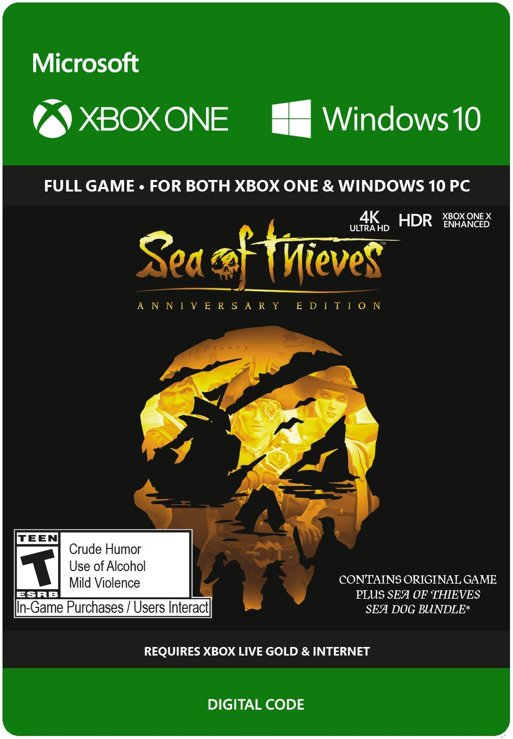 Amazon com: Sea of Thieves: Anniversary Edition - Xbox One