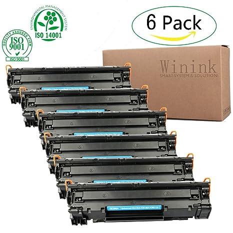 Amazon.com: winink LaserJet P1102 W cartucho de tóner negro ...