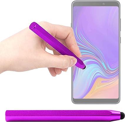 DURAGADGET Lápiz Stylus Morado para Smartphone Samsung Galaxy A9 ...