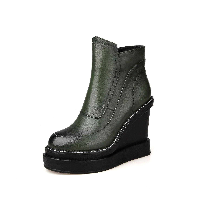 QIN&X Frauen Schuhe Plattform Schuhe mit flachem Boden