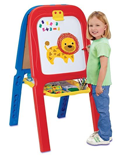 Amazoncom Grown Up Crayola 3 In 1 Double Easel Toys Games