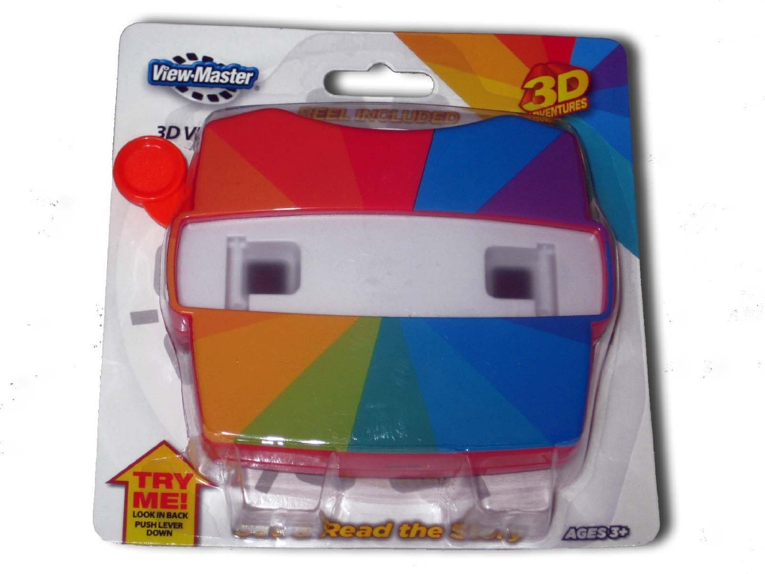 ViewMaster 3D Viewer and Collector Reel, Classic Red Basic Fun