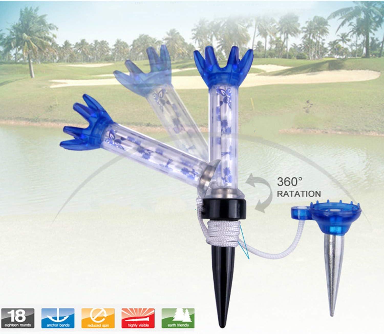 N/ägel 80 mm professionelles Golfball-System Kunststoff Alomejor Golf-Tees Tees Golfball-Trainingsger/ät