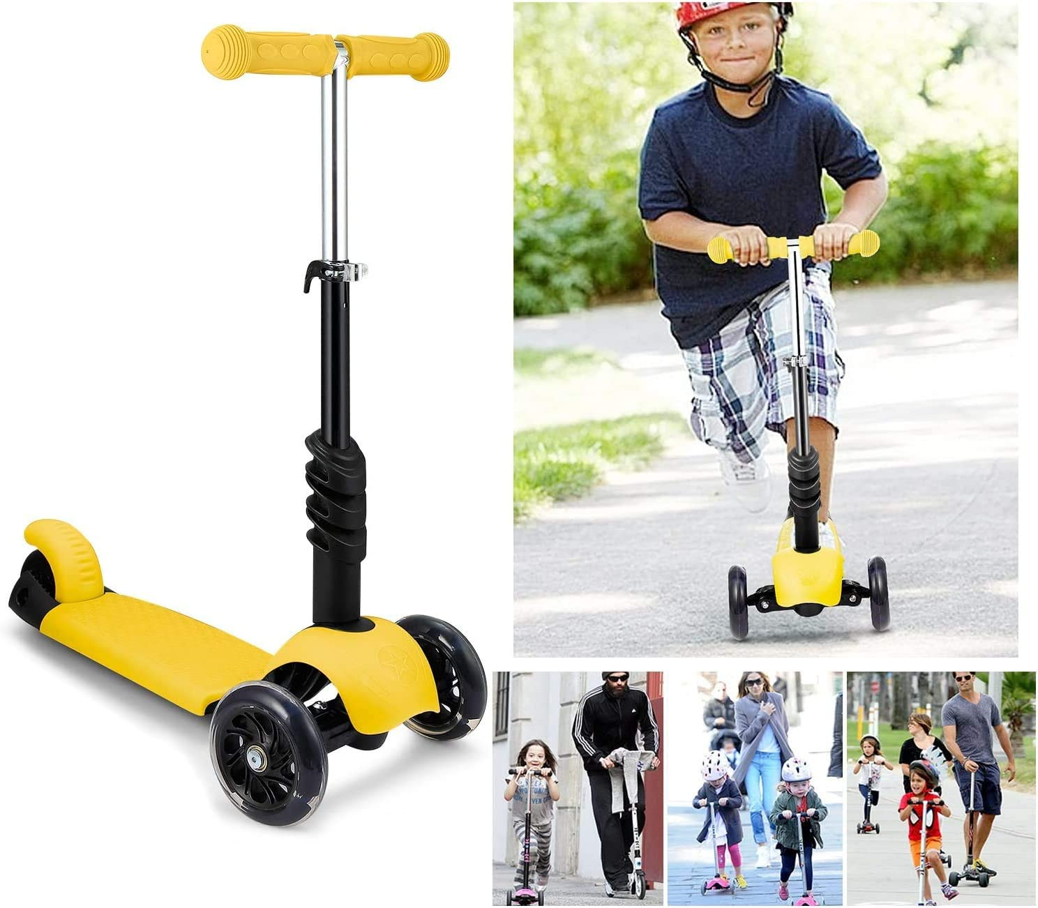 Shaofu Kids Scooter for Tddlers Girls or Boys 2 Years Old