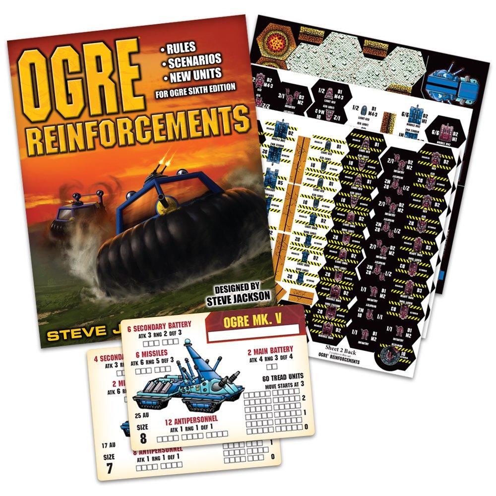 PSI Steve Jackson Games Ogre Reinforcements Game Publisher Services Inc 1316SJG