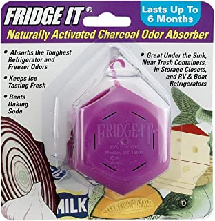 product image for Fridge-It Cube, Naturally Activated Charcoal Deodorizer, Refrigerator Odor Eliminator, Fragrance Free, Lasts up to 6-Months