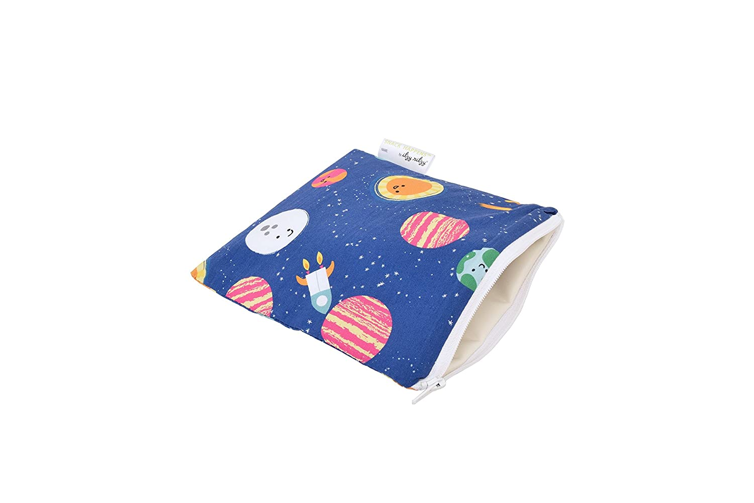 Itzy Ritzy IR-SWB8306 Snack Happens Reusable Snack and Everything Bag, Interstellar