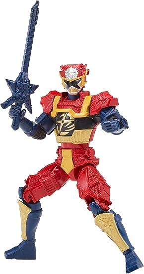 Power Rangers Super Ninja Steel Action Hero Figure, Lion Fire Armor: Gold Ranger