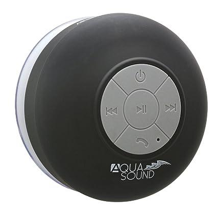 Amazoncom Aduro Aquasound Wsp20 Shower Speaker Portable