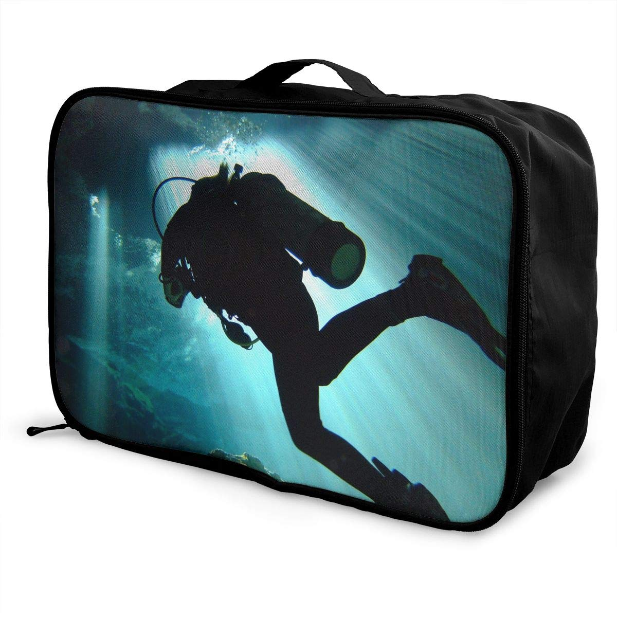 Travel Luggage Duffle Bag Lightweight Portable Handbag Diving Ocean Large Capacity Waterproof Storage Tote