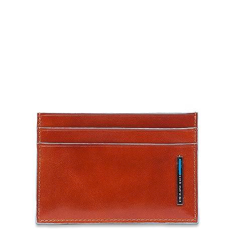 design senza tempo 8a8ce 2d112 Piquadro PP906B2 Porta Carte di Credito, Collezione Blu ...