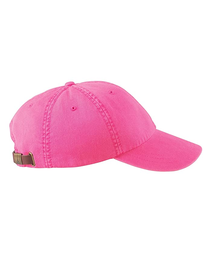 fdf7b22e631da Woman s Monogrammed Personalized Hot Pink Baseball Cap at Amazon Women s  Clothing store