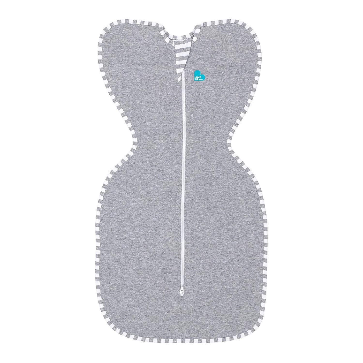 Love To Dream Swaddle UP Original 1.0 TOG, Gray, Small, 7-13 lbs.