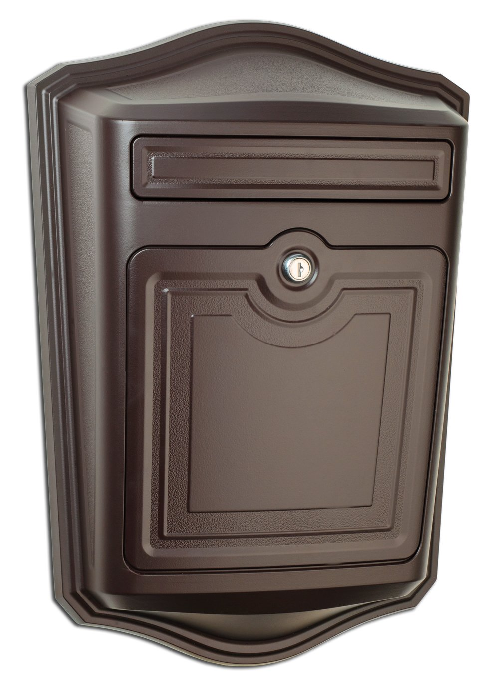 Architectural Mailboxes 2540RZ Maison Locking Wall Mount Mailbox, Oil Rubbed Bronze