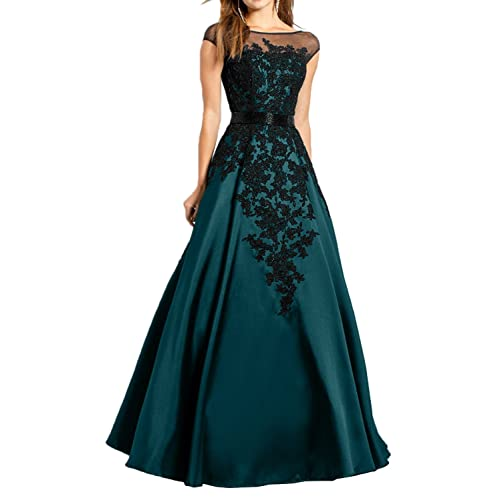 MILANO BRIDE Gorgeous Evening Dress Pageant Gown Illusion-Neck Ball Gown Applique-20W-