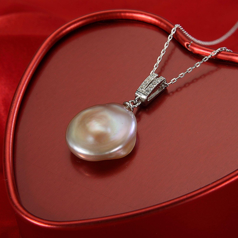 MMC Multicolor Button Pearl Silver Pendants Necklaces