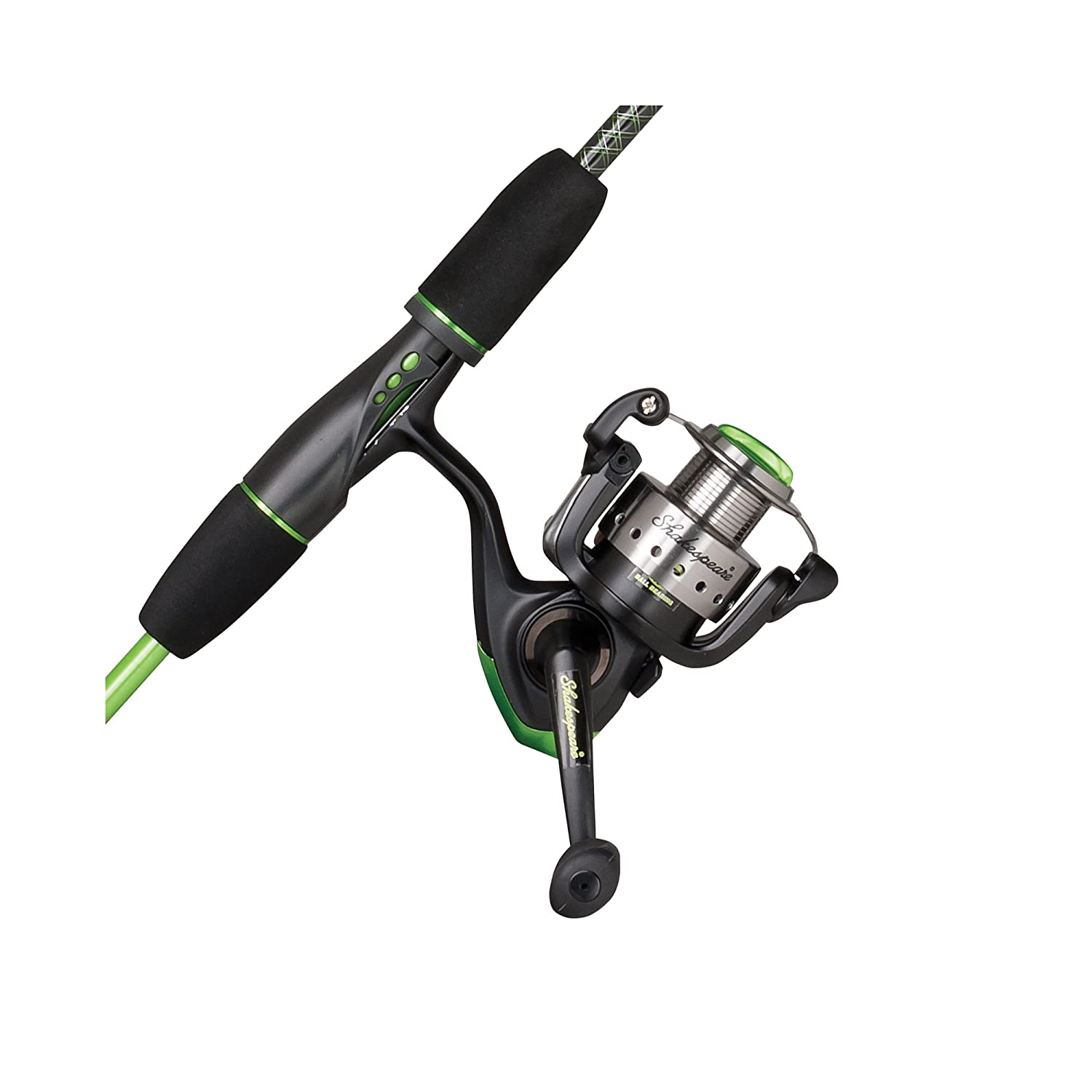 Shakespeare USYTHSP30CBO Youth Ugly Stik GX2 2-Piece Fishing Rod and Spinning Reel Combo, 5 Feet 6 Inch, Medium Power