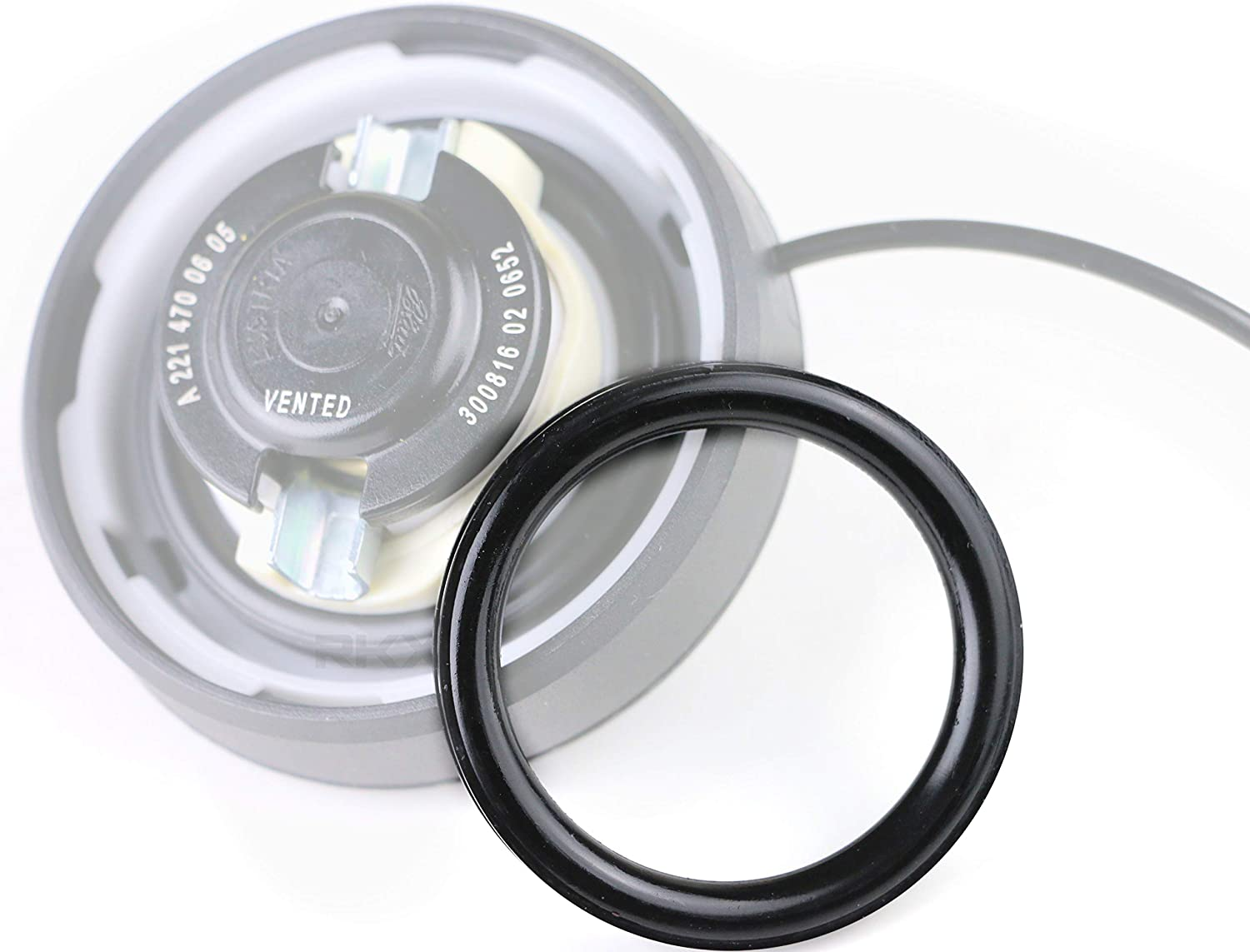 GENUINE Fuel Tank Gas Cap with Tether for Mercedes Benz