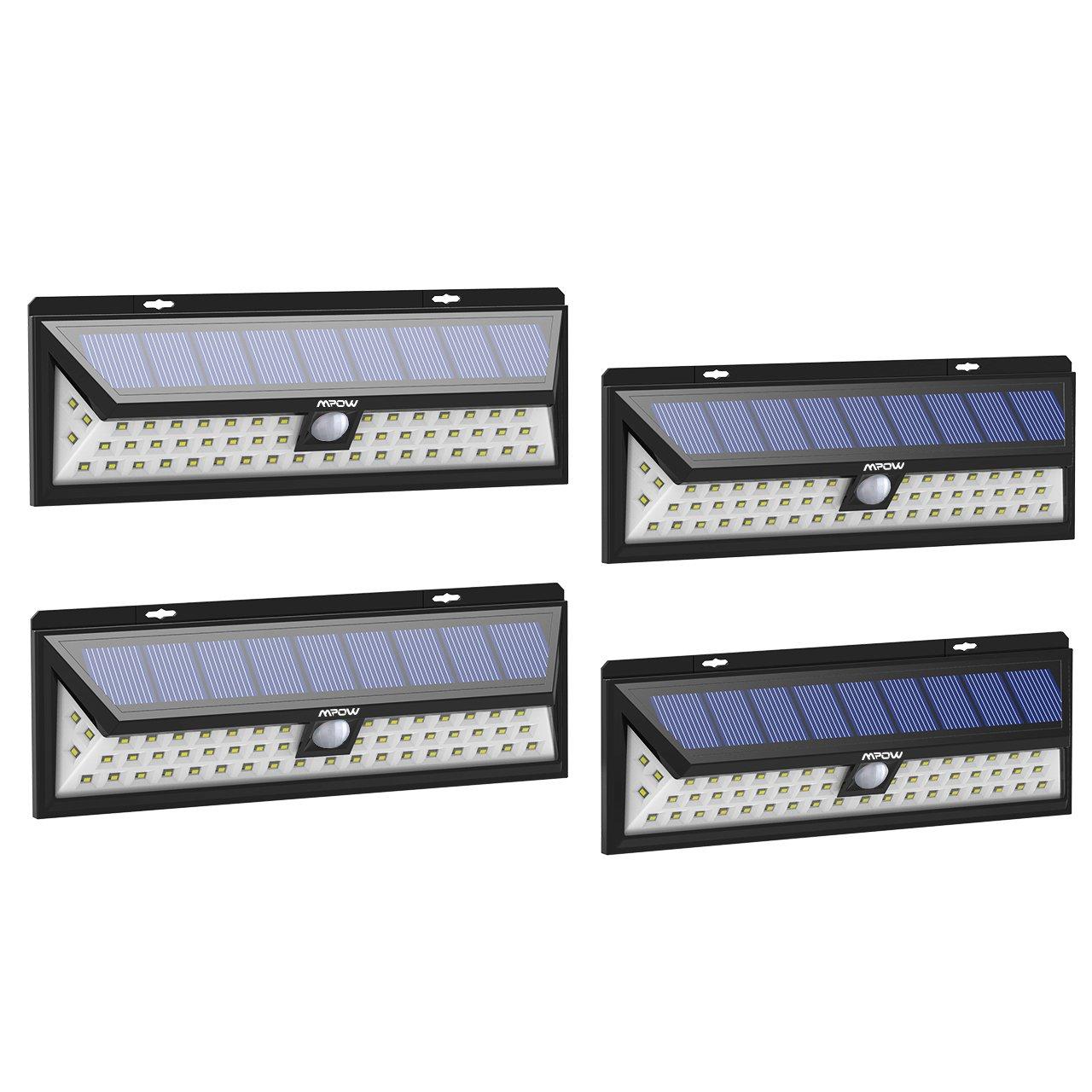 Mpow 54LED, ソーラーライト センサーライト 庭 54led 人感センサー 3つ点灯モード 防水 屋外防犯ライト Mode, 自動点灯 庭 玄関 駐車場 停電緊急対策 防災対応 4個 54LED, 3 Mode, 4 Pack B073WBZLK6, まめぞう:c5a285e0 --- krianta.ru