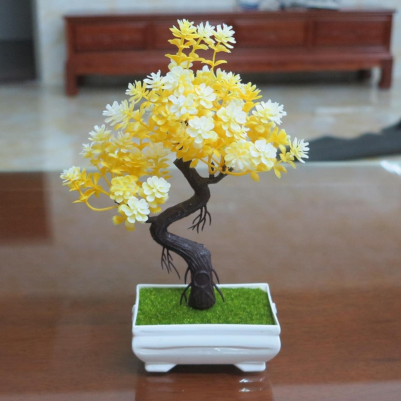 Bonsai Simulation Künstlich Topf Pflanze Heimbüro Falsche Kiefer Tree