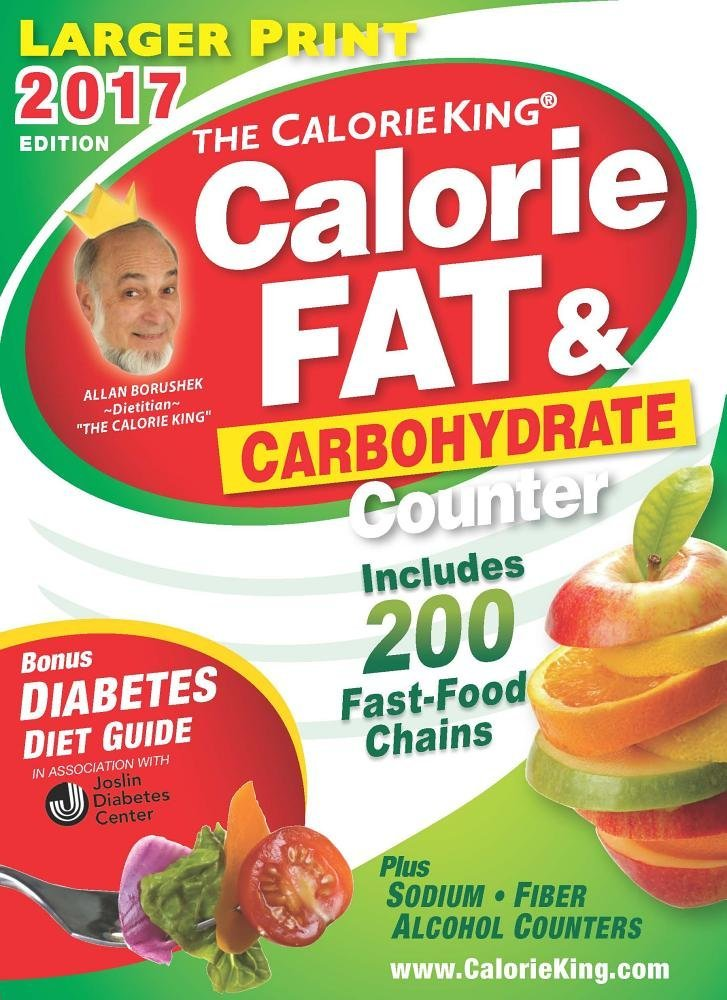 The Calorieking Calorie Fat Carbohydrate Counter 2017 Larger