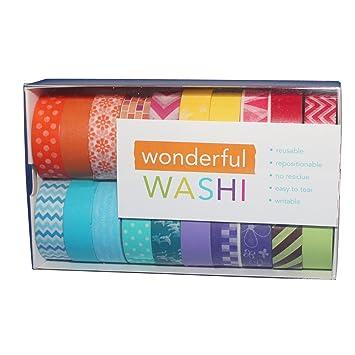 Amazon Wonderful Washi Japanese Decorative Paper Craft Tape
