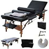 Giantex Portable Massage Table Facial Bed 3 Fold Section