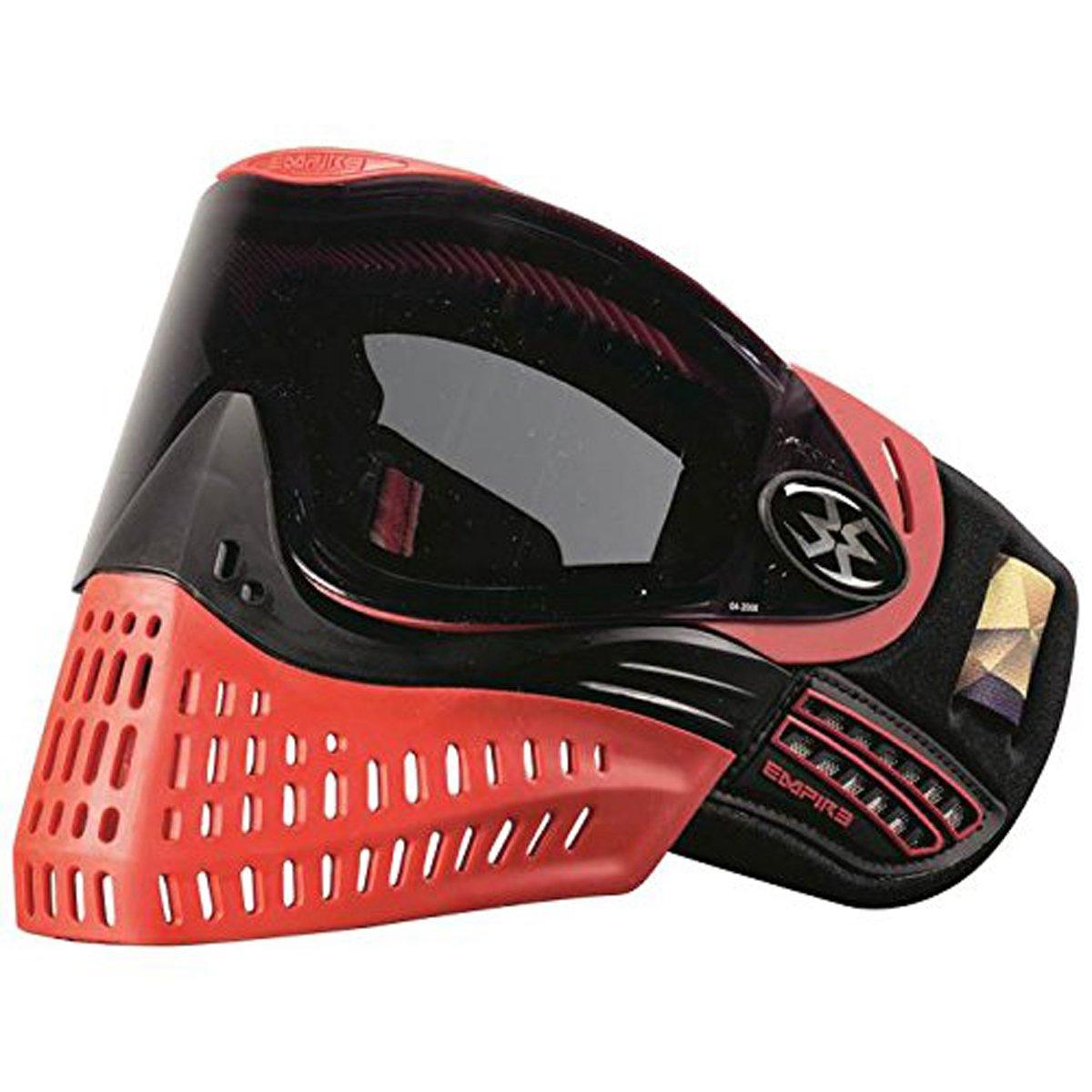 Empire E-Flex Paintball Goggle Mask - Red/Black