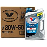 Valvoline VR1 Racing SAE 20W-50 Motor Oil 5 QT, Case of 3