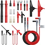 Proster Multimeter Probe Test Lead Kit with Alligator Clips Replaceable Automotive Multimeter Leads Clamp Meter Leads…