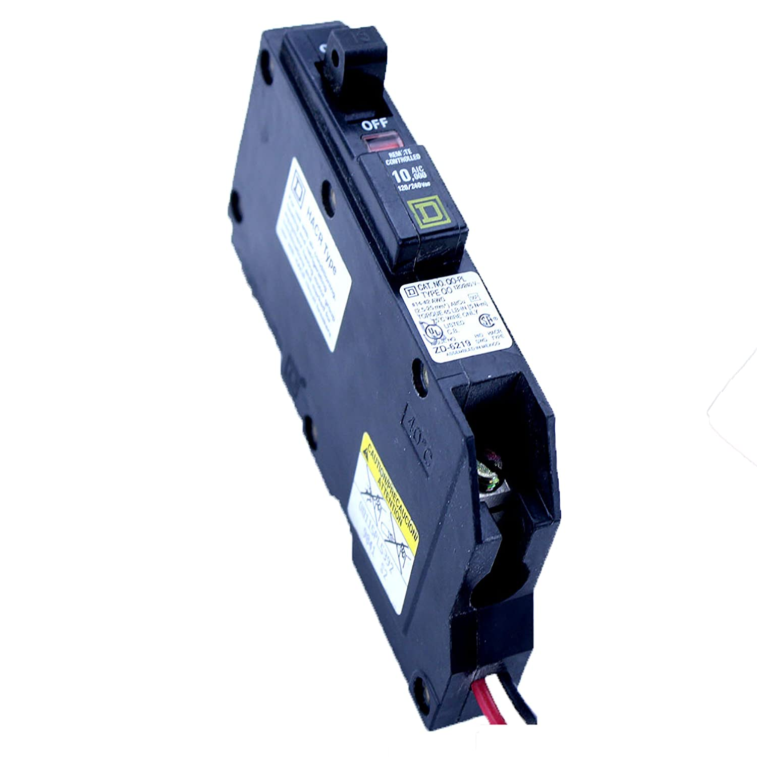 Square D Qo115pl Type Qo 1 Pole 15a 120 240v Remote Controlled Two 30 Amp Circuit Breaker Hom230cp By Schneider Electric
