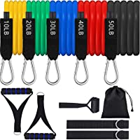 Ktrwer 16-Piece Resistance Bands Set with Handles