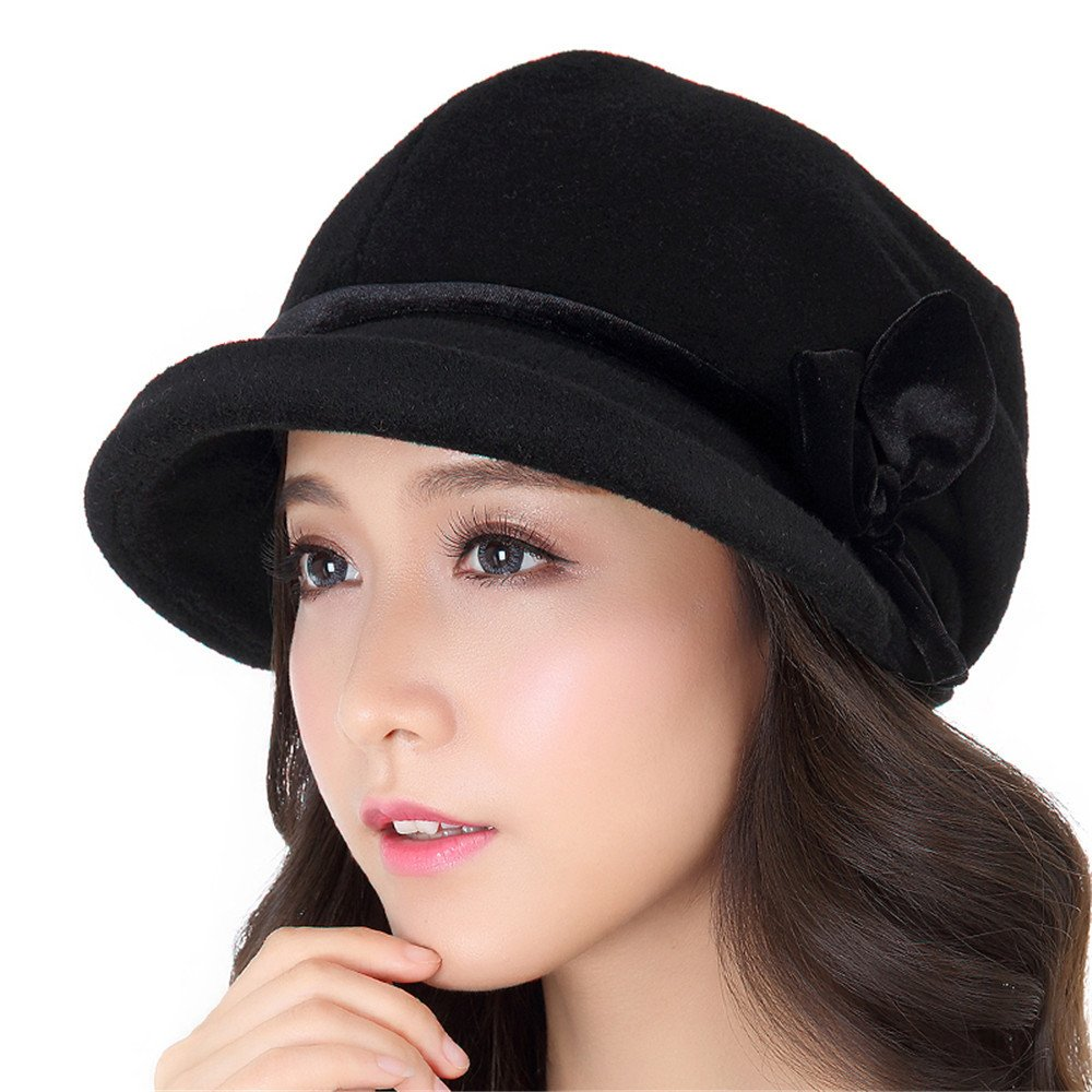 Mujer sombreros de , rollos de invierno, moda casual, Fisherman's potes, sombreros, damas, otoño, in...