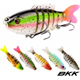SeaKnight Minnow SK044 Suspending Fishing Lure Set 7.4g 90mm 0-1.0M 5PCS Jointed Bait with Fishtail VMC Hooks Saltwater Fishing
