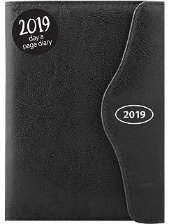 Agenda del año 2018 con tamaño A5, con índice y cierre ...