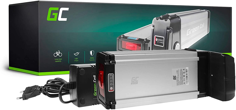 GC/® Batterie E-Bike 36V 10.4Ah V/élos /Électriques Pedelec Silverfish Bikemanufaktur GoCyCle avec Cellules Panasonic et Chargeur