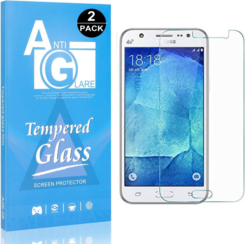 Ultra Transparent Bear Village/® Verre Tremp/é Galaxy J7 2016 3D Touch Protection en Verre Tremp/é /Écran pour Samsung Galaxy J7 2016 Sans Bulles 2 Pi/èces