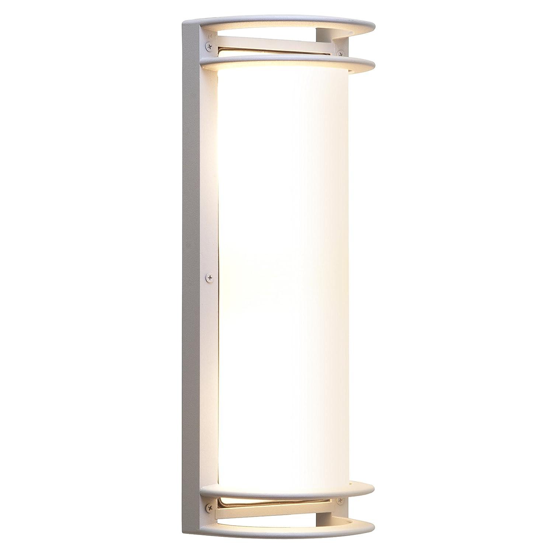 アクセス照明バミューダ20031 MG屋外ウォールライト シルバー 20031MG-SAT/RFR 1 B01DEI5I92 31618  Satin