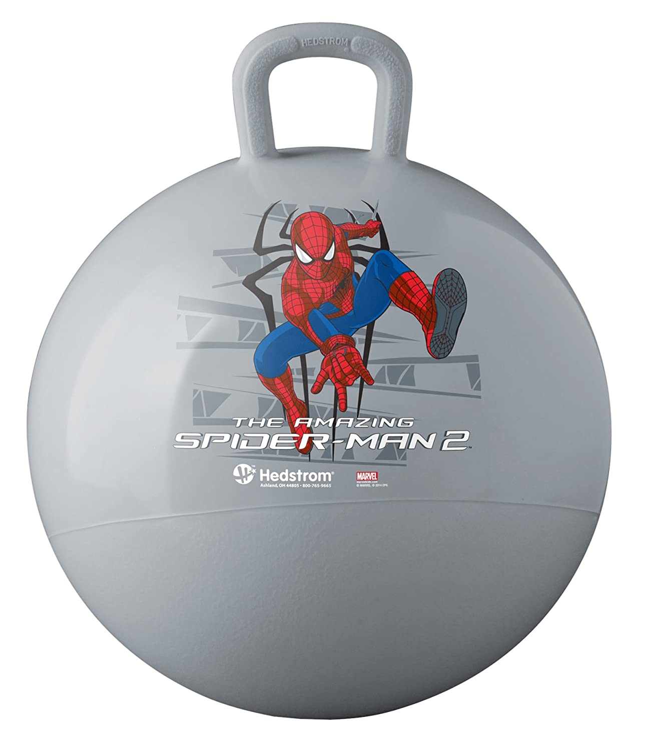 Ball Bounce and Sport Toys Amazing Spiderman Hopper Hedstrom Toys 55-8494