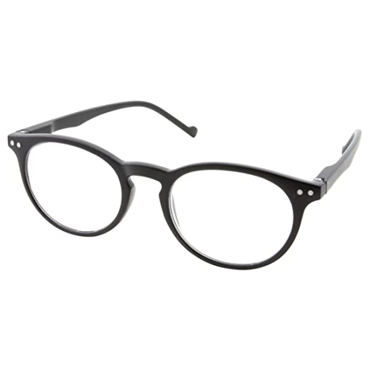 4cf011f80b98 High Magnification Power Strong Reading Glasses Readers +4.00 to +6.00  (Black