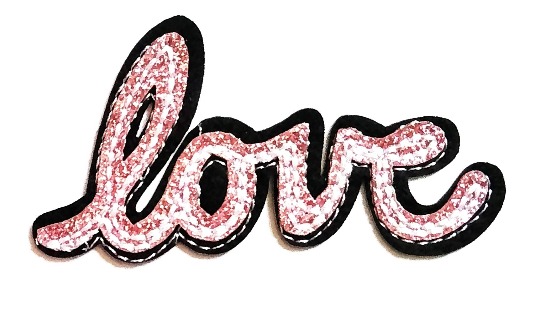 Nipitshop Patches Beautiful Fashion Love Patch Pink