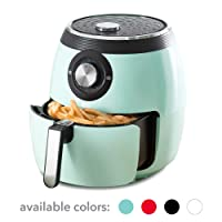 Amazon.com deals on Dash DFAF455GBAQ01 Deluxe Electric Air Fryer + Oven Cooker