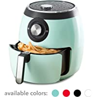 Dash DFAF455GBAQ01 Deluxe Electric Air Fryer + Oven Cooker with with Temperature Control, Non Stick Fry Basket, Recipe Guide + Auto Shut Off Feature
