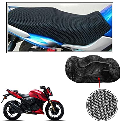 Fantastic Vheelocityin Autowizard No Heat Net Seat Cover Motorcycle Bike Scooty Seats Cover For Tvs Apache Rtr 200 4V Pdpeps Interior Chair Design Pdpepsorg