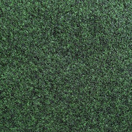iCustomRug Plush Aqua Turf Indoor and Outdoor Area Rug 6 Feet X 12 Feet in Green ()