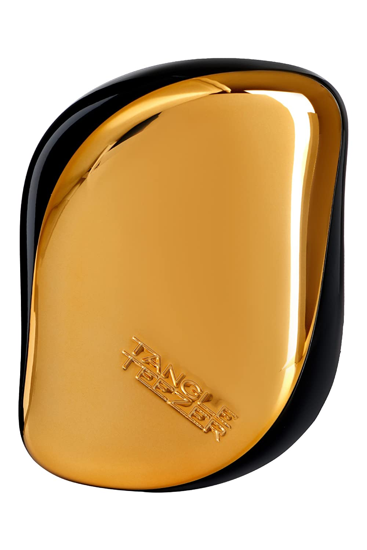 Compact Styler On-The-Go Detangling Hair Brush - # Bronze Chrome - 1pc Tangle Teezer CS-BR-010816