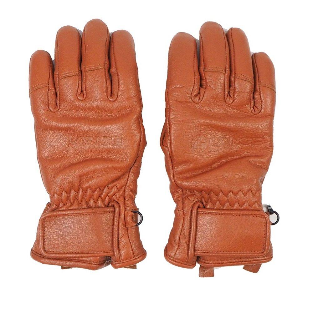 ラングLANGEスキー手袋「JEATHER 5 FINGER」BRN(LLGJG03) (S)